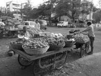 Mercatino degli ortaggi sulla strada
