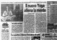 Sahaja Yoga nello sport