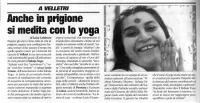 Sahaja Yoga nelle carceri